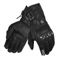 NEW: Keis G501 Premium Heated Armoured Gloves (Dual Power)